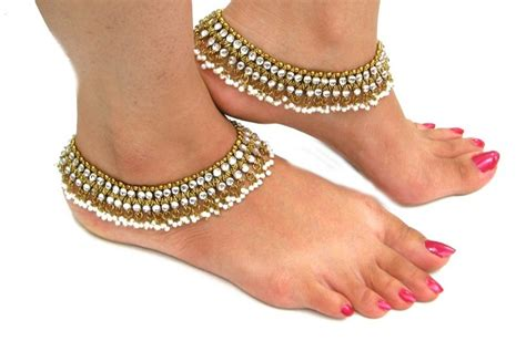 My Anklet things to about indian traditional jewelry
