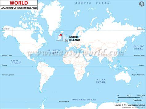 where is northern ireland northern ireland location in