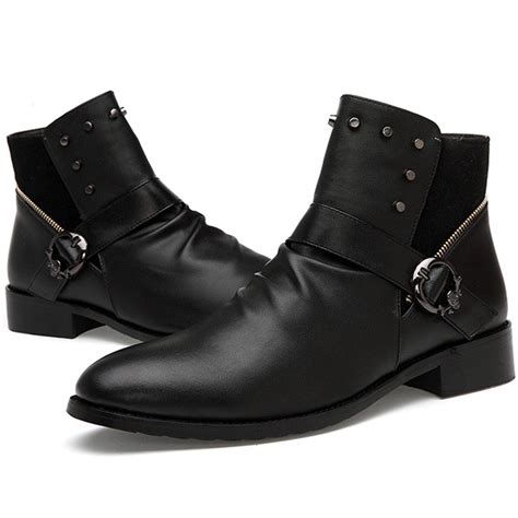 mens motorcycle ankle ankle boots mens boot ri