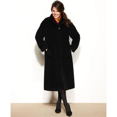 Topshop In New York Plus Size Store To Soon Follow by Jones New York Plus Size Wool Alpaca Blend Maxi Walker