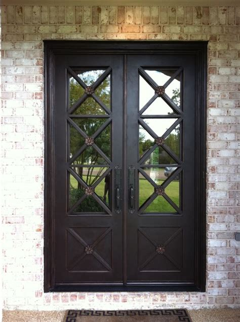 Wrought Iron Exterior Door Fallo Wrought Iron Door Melbourne Wrought Iron