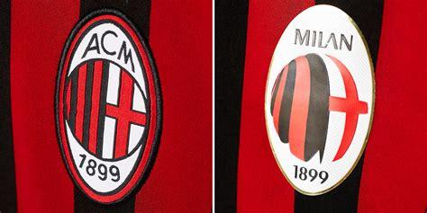 Kaos A C Milan Football Logo 4 Singlet Tanpa Lengan Tpl Acm15 Pria new ac milan logo leaked footy headlines