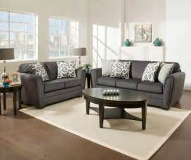 livingroom furnature simmons flannel charcoal living room furniture collection