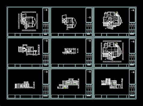 house plan dwg fashion house 2d dwg plan for autocad designs cad