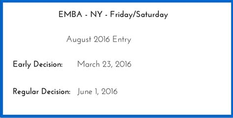Mba Application Deadline Columbia by 2016 Emba Application Columbia Business School