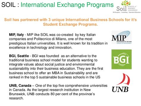 One Year Mba Programs Seattle by About Soil One Year Mba College