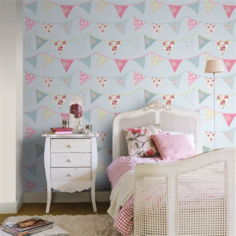 girls bedroom wallpaper girls wallpaper themed bedroom unicorn stars heart glitter