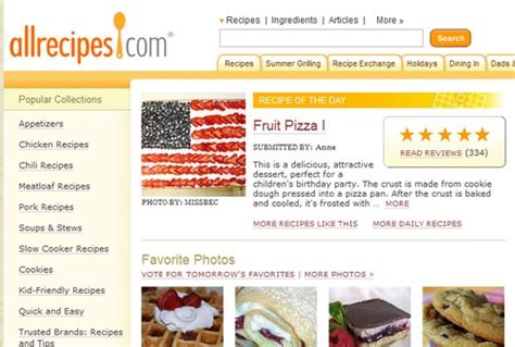 highest rated recipes on the web five best recipe managers