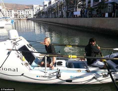 boat to america from uk riann manser and vasti geldenhuys become the first to row