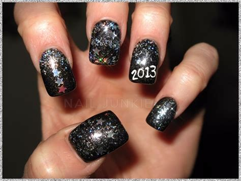 gelish nail designs new year new year nails 2013 nail gallery