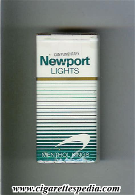 newport lights newport lights menthol white and green ks 10 s usa
