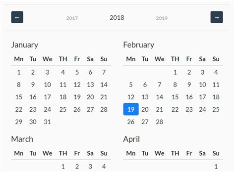 fully configurable jquery date picker plugin bootstrap