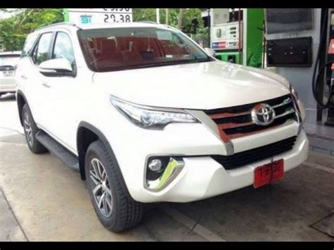 new fortuner 2016 youtube 2016 toyota fortuner body kit 2016 toyota 2016 toyota fortuner awd suv facelift youtube