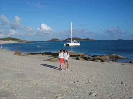 catamaran sailing courses uk claire and binna st martins catamaran training multihull