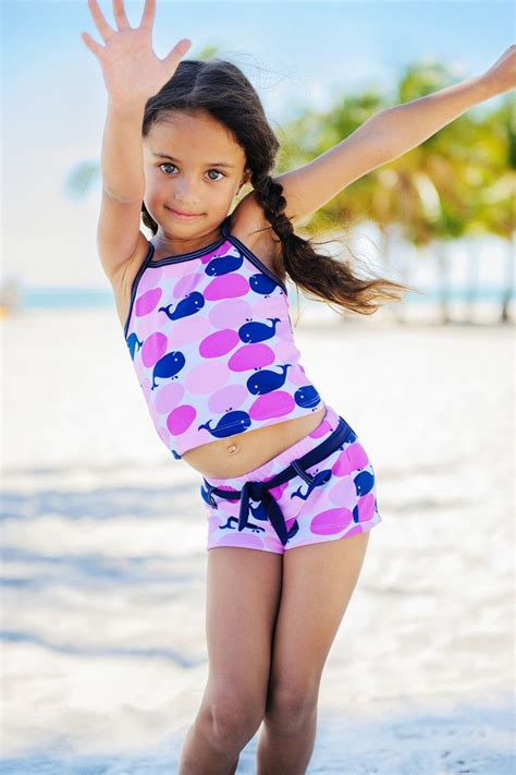 Balon Set By Ef Fashionable s uv tankini shorts set whales upf50 sun protection avana collection with