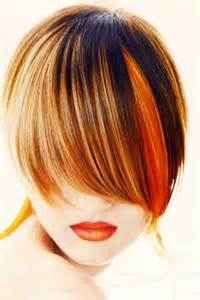orange brown hair color an orange streak hair colors ideas
