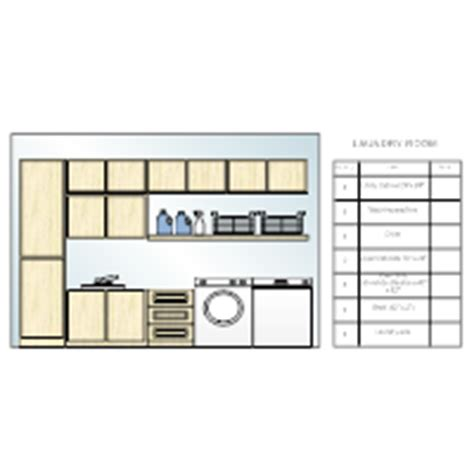 laundry room layout templates storage design exles