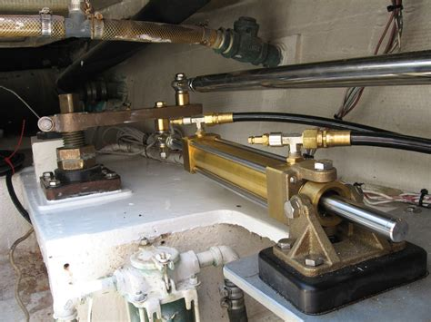 boat hydraulic steering lines how to maintain the hydraulic systems on your boat power
