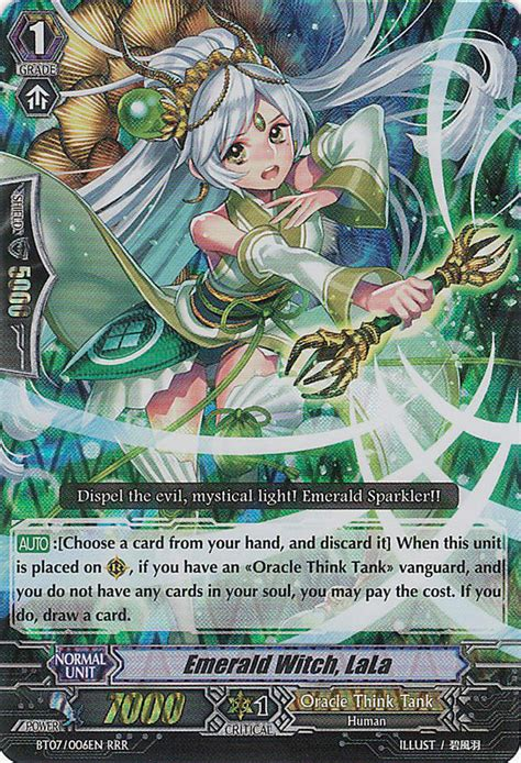 Vanguard Cardfight Oracle Think Thank Deck Eng emerald witch lala cardfight vanguard wiki wikia
