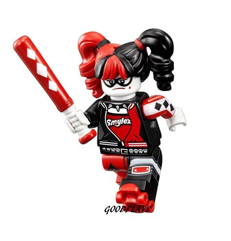Lego Minifigures Harley Quinn 2017 lego the batman harley quinn minifigure new