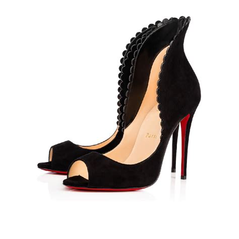 Shoes Christian Louboutin Po38 Christian Louboutin Pijonina Special Shoes Black 100mm