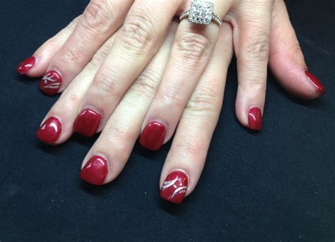 gel nail for new year gel color new years nails nails