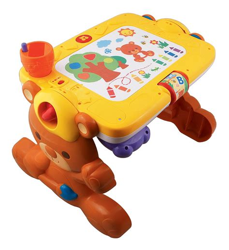 2 in 1 table vtech 2 in 1 discovery table play and draw so much to