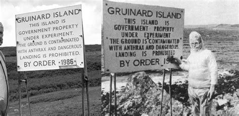 Strange History the strange history of britain s anthrax island animalogic