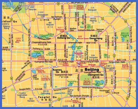 map of tourist attractions 2 beijing map tourist attractions toursmaps