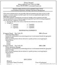 Resume Template Ms Word by Free 40 Top Professional Resume Templates