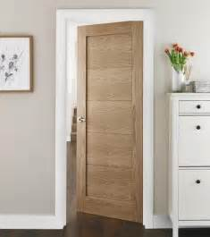 interior oak doors single panelled modern door in light oak ideas for the