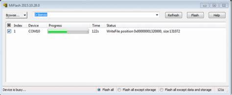 tutorial flash redmi note 3 pro cara flash redmi note 3 pro via miflash fastboot