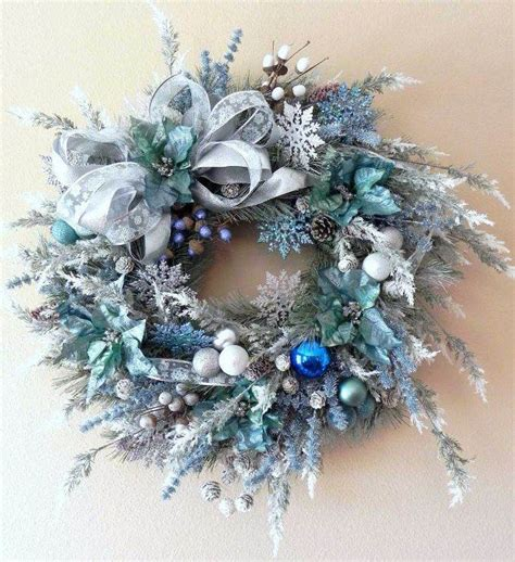 40 fresh blue christmas decorating ideas family holiday