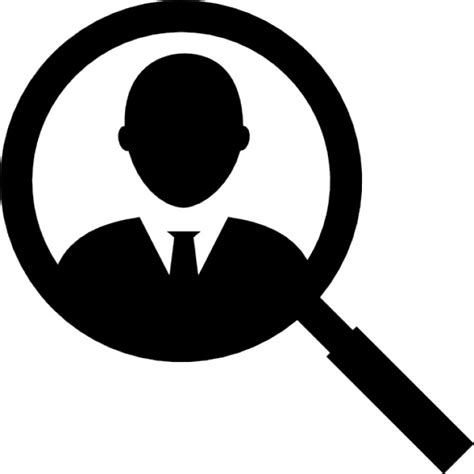 Free Username Lookup User Search Interface Symbol Icons Free