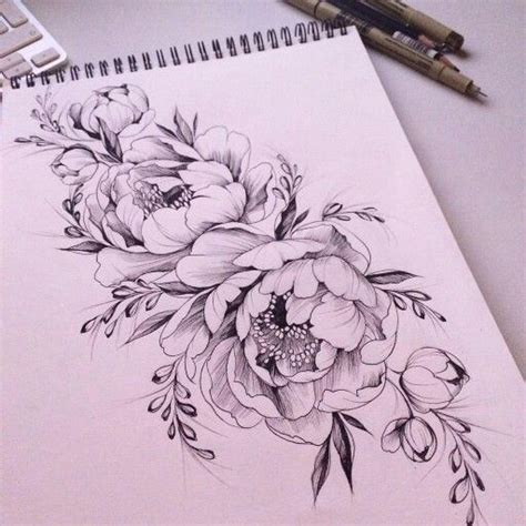 tattoo lettering with flowers 25 best ideas about peonies tattoo on pinterest vintage