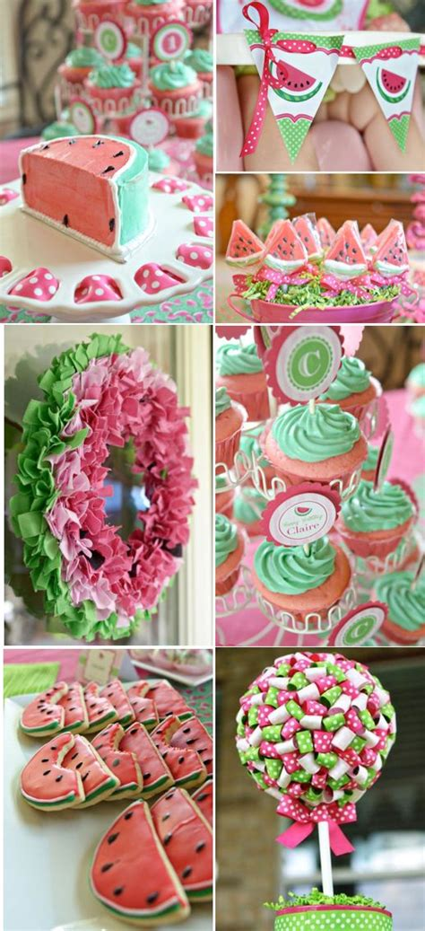 cute girl themes mobile9 adorable watermelon themed girl birthday party with tons