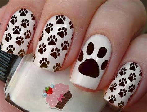 imagenes de uñas decoradas animales dise 241 o de u 241 as decoradas con perritos