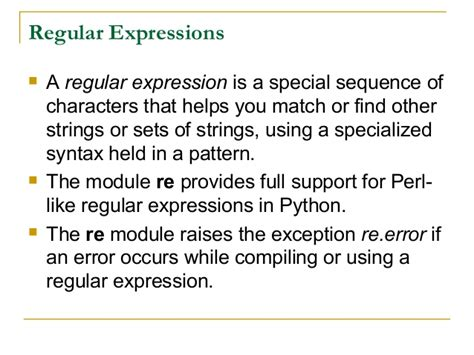 xml pattern expression régulière adv python regular expression by rj