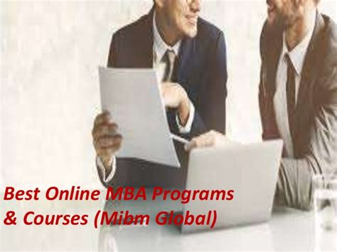 Easiest Mba Course by Best Mba Programs Courses Mba With Specialization