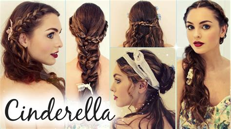 hairstyles and makeup by jackie cinderella quot messy maiden quot hairstyles lily james braids
