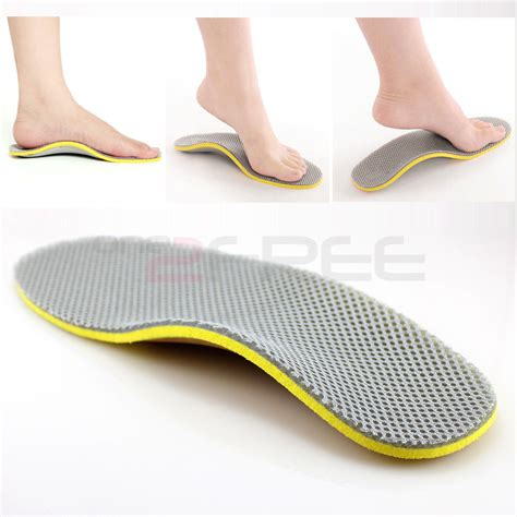 shoe insoles new 1pair orthotic arch support shoe insoles pads