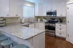 Discount Kitchen Cabinets Dallas kitchen remodel ashen white granite countertop and white