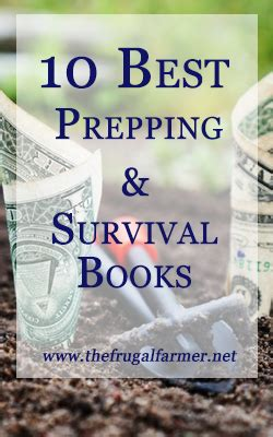 surviving hurricane september 18 2017 books the 10 best prepping and survival books the frugal farmer