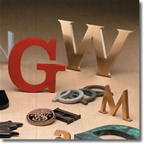 Letter Cast Cast Metal Sign Letters