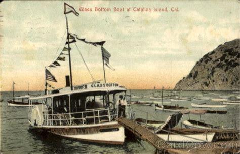 glass bottom boats catalina ca glass bottom boat at california santa catalina island ca