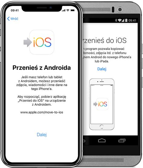 Z Iphone Na Android by Migracja Z Systemu Android Na Telefon Iphone Ipada Lub Ipoda Touch Wsparcie Apple