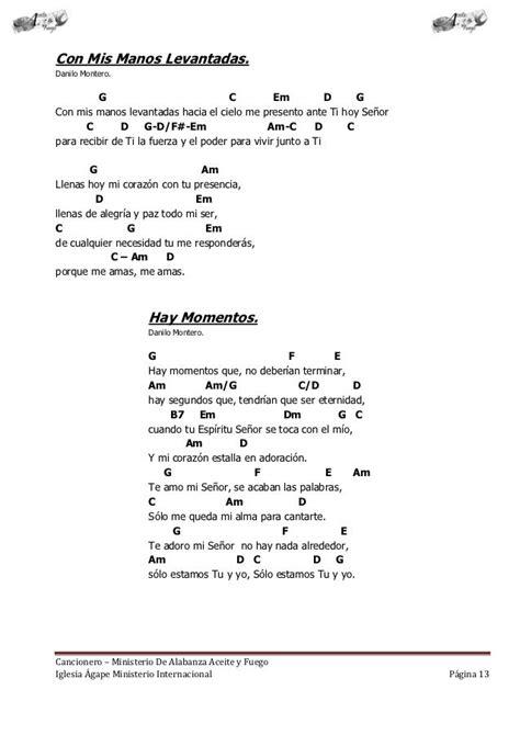 cancionero cristiano con acordes | Letras de canciones