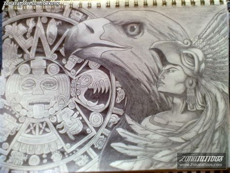 dibujos aztecas significado pictures to pin on pinterest