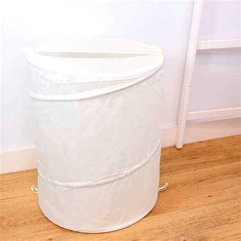 Heavy Duty Laundry Basket Pop Up White Sierra Laundry Heavy Duty Laundry