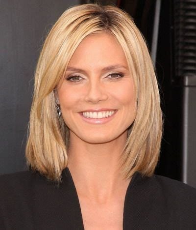 medium haircuts heidi klum the world s catalog of ideas